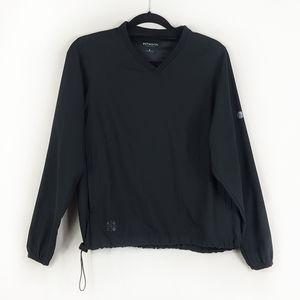Ashworth Black V-Neck Pullover